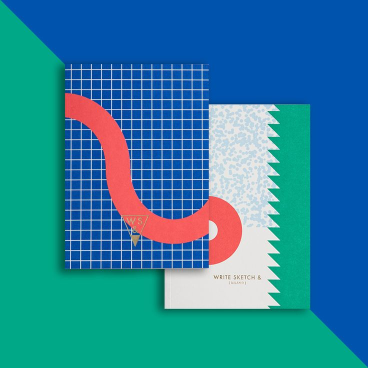 Happy Notebooks by Officemilano Nod to Italy's Exuberant Design HistoryEye on Design | Eye on Design
