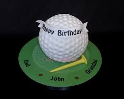 golf cakes - Google Search