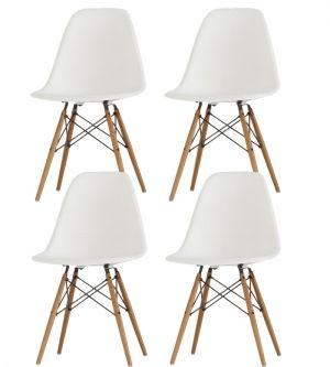 4 Chaises DSW - Charles Eames - Chaises design - Meubles & Design : reproductions de mobilier de designers