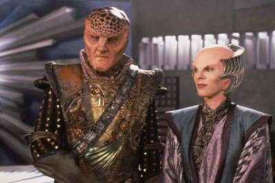 Babylon 5' – Andreas Katsulas and Mira Furlan — Brusimm