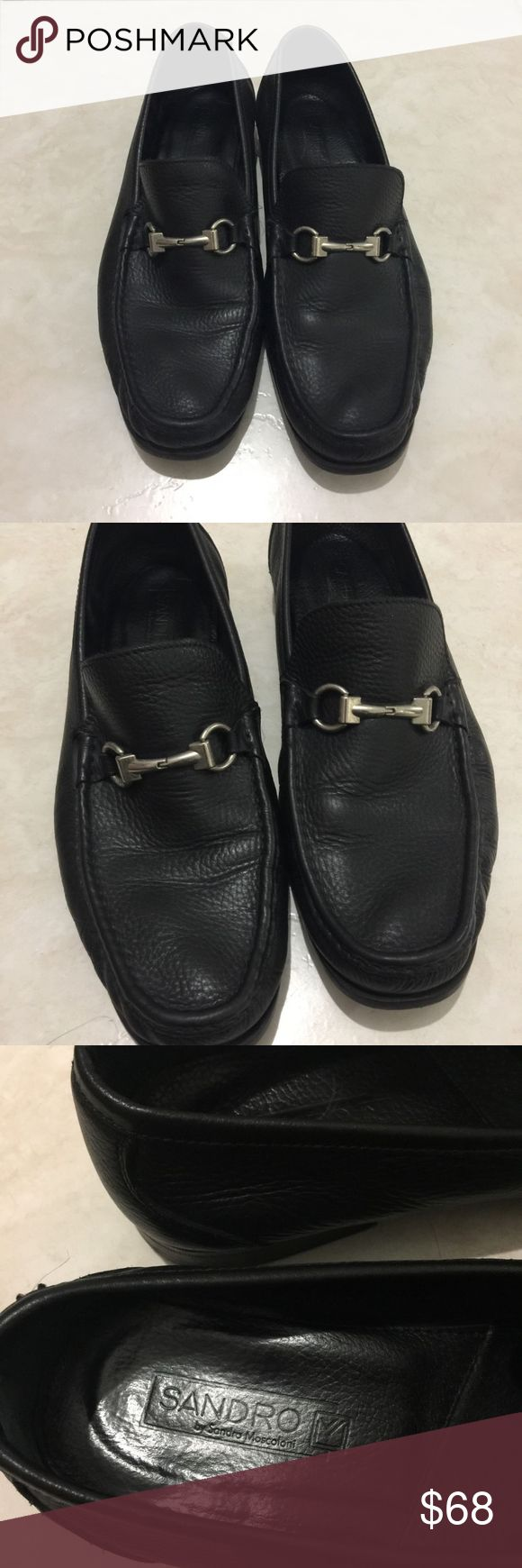 Sandro by Sandra Moscoloni Malibu Black Loafers Excellent used condition.  Resembles Gucci loafers. Sandro Shoes Loafers & Slip-Ons