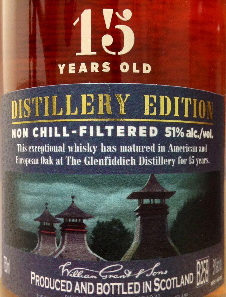 Glenfiddich 15yo Distillery Edition 51%