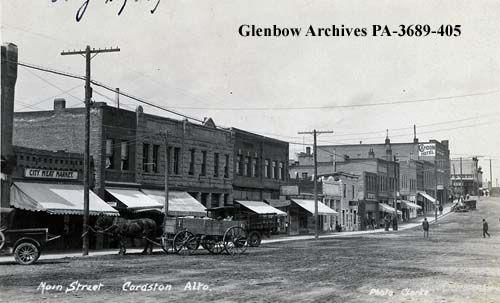 File number: PA-3689-405 Title: Main Street, Cardston, Alberta. Date: [ca. 1930]