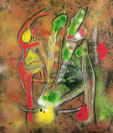 Roberto Matta, Carborundum Etching Suite 20 on ArtStack #roberto-matta #art