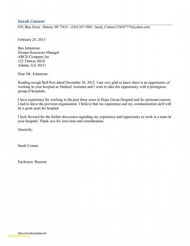 Medical assistant cover letter with no experience check