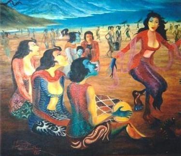 Hendra Gunawan - Penari Ronggeng