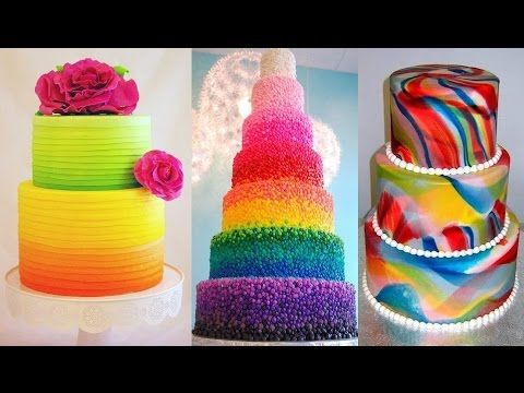 the most amazing cake decorating videos flower cake decorating tutorial compilation youtube - Cake Decorating Videos