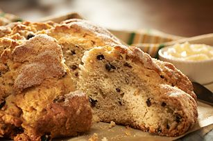 Irish Soda Bread recipe - Haven't tried it yet but it's got tons of good ratings. I really like making quick breads since I'm pretty scared of yeast.