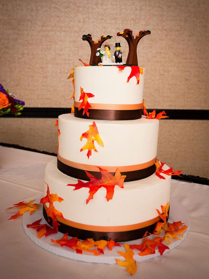 autumn themed wedding cake toppers 1000 images about wedding cakes on 10898