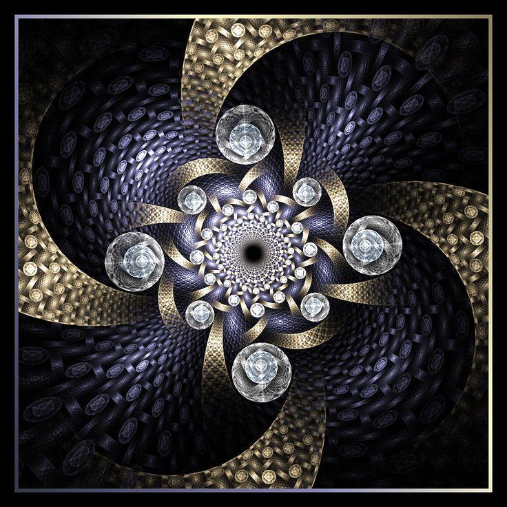 Ornamentally Juxtaposed by ~Ravenfire711 on deviantART (fractal art)