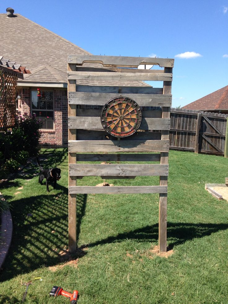 Backyard Dart Board