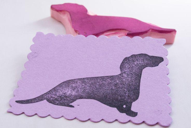 Dachshund Dog Stamp