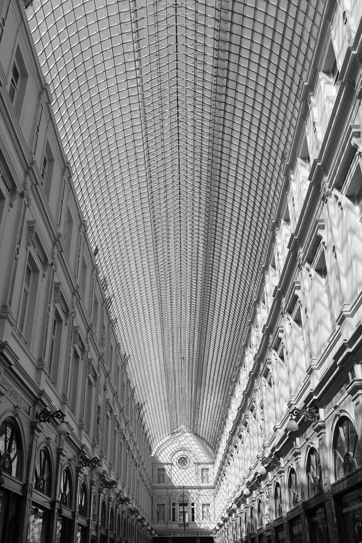 Free stock photo of black-and-white, architecture, shops, brussels