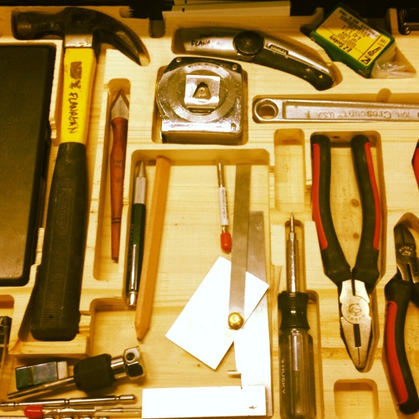 #CNC your own tool drawer.