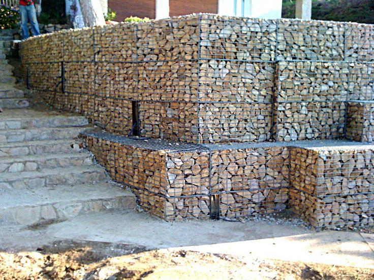 unbelievable curved gabion wall. Gabion retaining walls http www gabion1 co uk 104 best Landscaping images on Pinterest