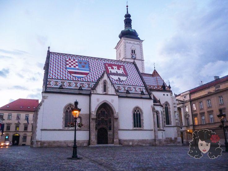 City Centre of Zagreb, Croatia, June 2016.