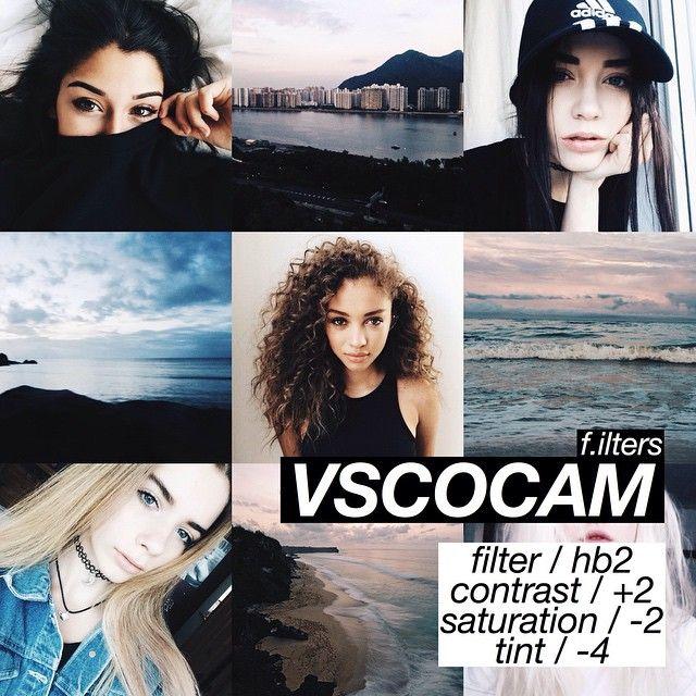 VSCOCAM   Use esse efeito para fotos mais escuras.