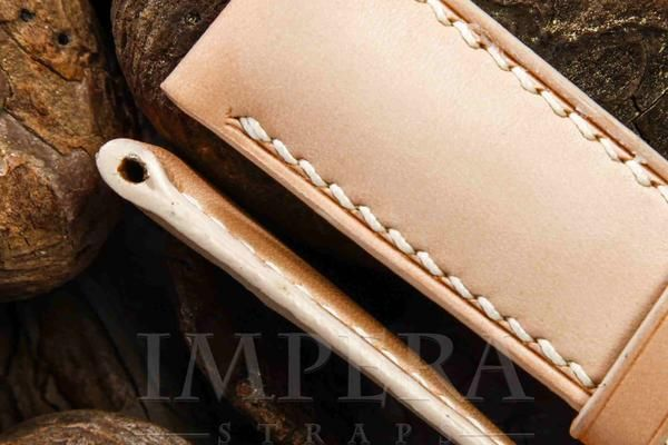 Panerai Natural Leather Watch Strap,https://www.imperastraps.com