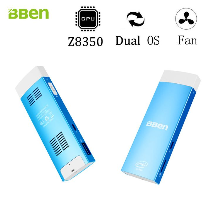 BBen MN1S Mini computer stick Dual boot Windows10& Android 5.1 System Intel X5-Z8350 Quad Core 2GB+32GB HDMI WiFi TV Stick