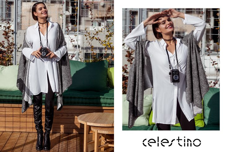 Today we are going to stroll around the Christmassy town with our hot #outfit and our camera to capture our moments. #ootd #outfits celestino.gr