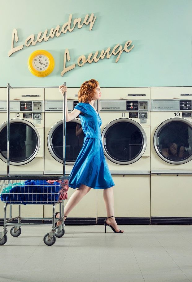 Laundry Lounge by Britney Kidd