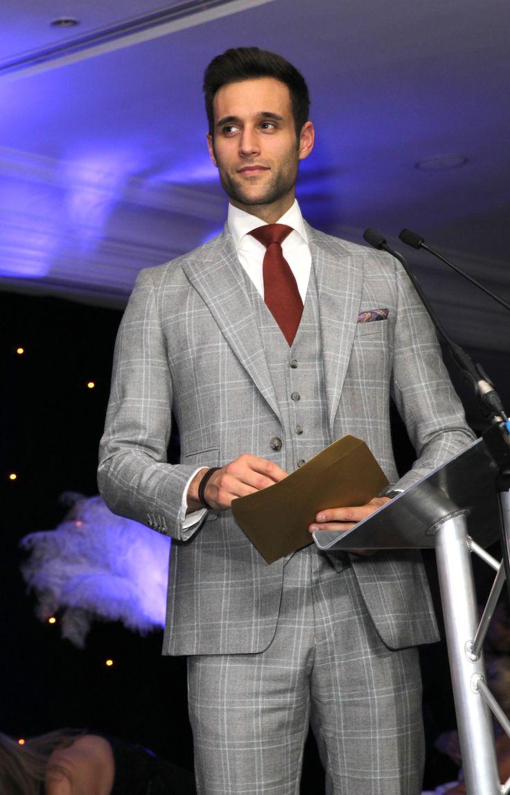 Emmerdale's Rik Makarem stylishly presents an award at MyFaceMyBody Awards UK, London.
