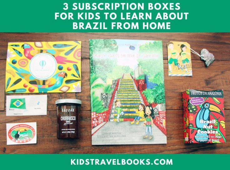Brazil is THE destination to learn about this summer. For the many of us who aren't heading over there – I have good news. Along with the plenty of books in our directory, there are several subscription boxes available that offer a nice, at-home, Brazil experience. Please note: Some of the links are affiliate links. …