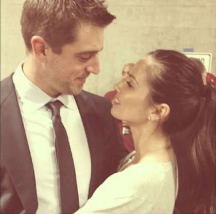 Olivia Munn and Aaron Rodgers. JUST THE WAY HE LOOKS AT HER...AHHH my heart.