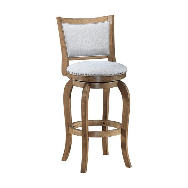 Peachy Prevost Wooden Swivel Bar Stool Lake House Ideas Wooden Caraccident5 Cool Chair Designs And Ideas Caraccident5Info