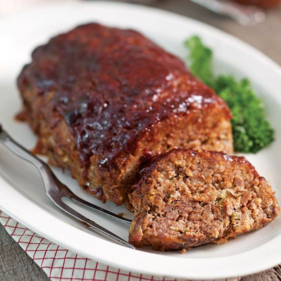 Weight Watchers Meatloaf Recipe/4 servings/6 smart points per two slice serving