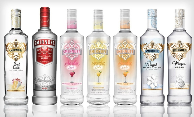 Groupon - $ 48.99 for a Customized Pack of Three Smirnoff Vodkas ($ 65.02 List Price) 8 Flavors Available. Shipping Included.. Groupon deal price: $48.99