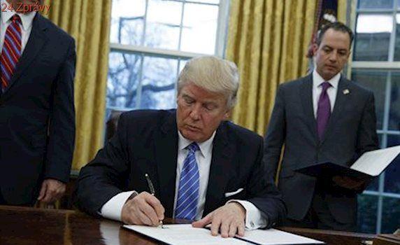 'Velký den pro národní bezpečnost.' Trump chce podepsat stavbu zdi a zmrazit imigraci ze Sýrie
