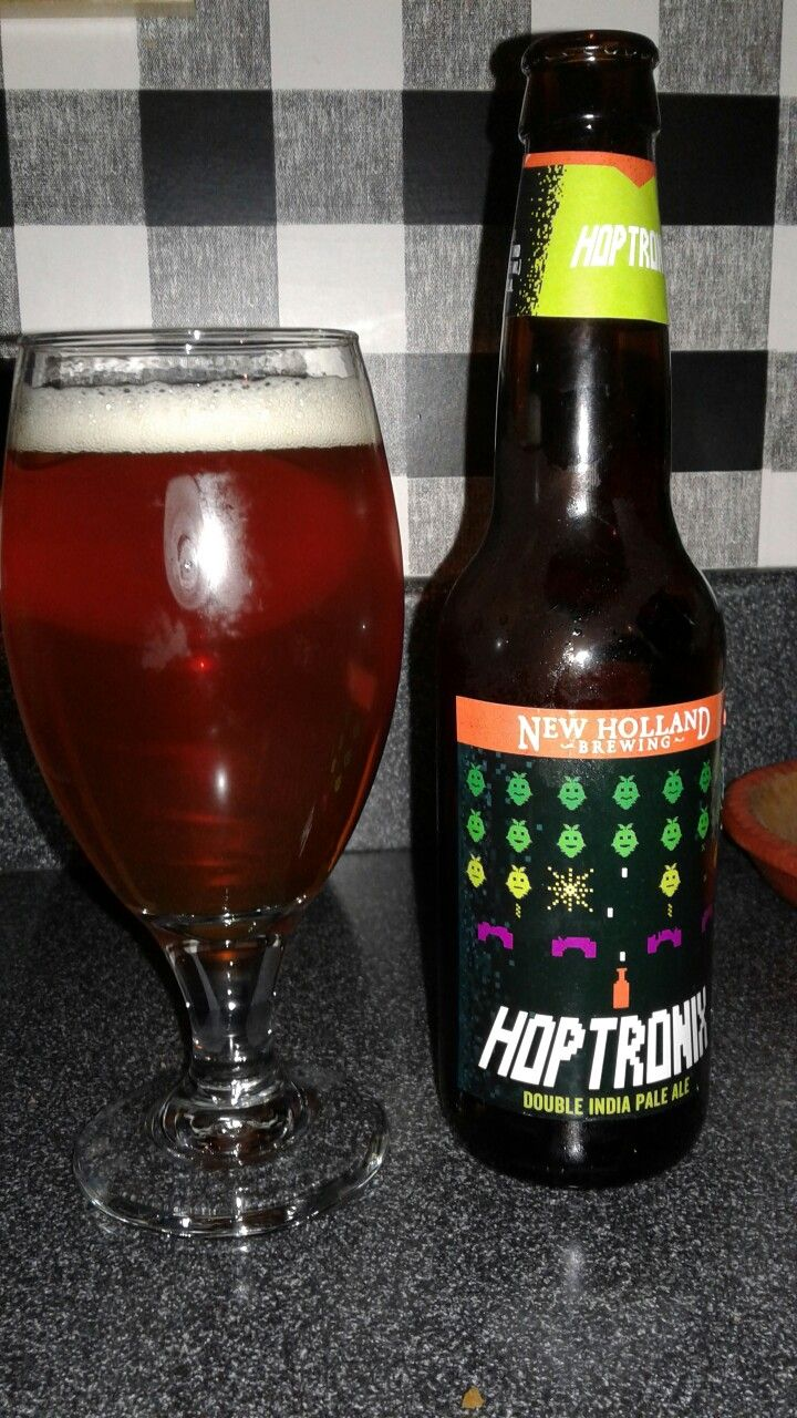 Hop Tronix Double IPA from New Holland Brewing - 9% ABV