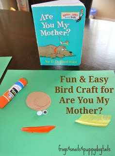 (FSPDT): Bird Craft for Are You My Mother?