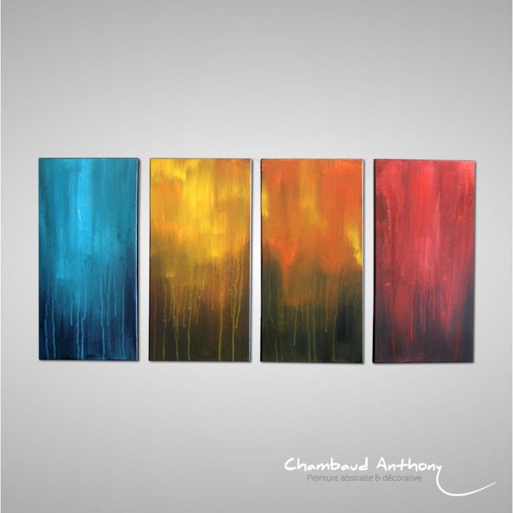 12 best tableau contemporain images on pinterest abstract art abstract paintings and canvases - Tableau art contemporain ...