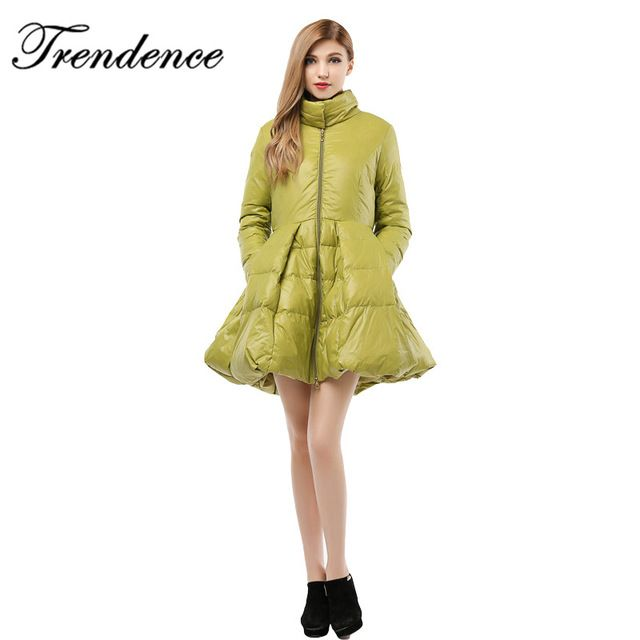 Trendence winter jacket women plus size black gold winter coat long casaco feminino duck down parkas for women winter WD3000 US $195.88 /piece    CLICK LINK TO BUY THE PRODUCT  http://goo.gl/oYWEYs