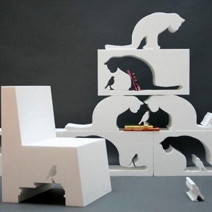 Unbelievably Creative Furniture--Fill In The Cat