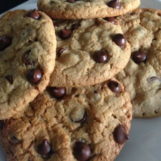 Galletas con Chispas de Chocolate Suaves
