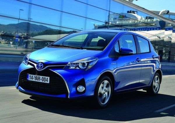 2015 Toyota Yaris Front Exterior 600x421 2015 Toyota Yaris Full Review with Images