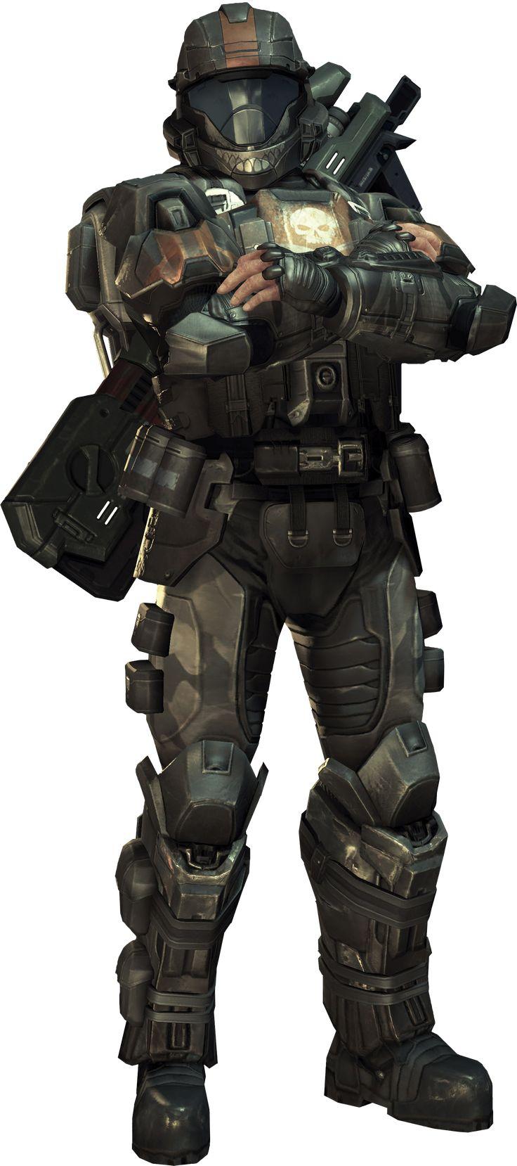 Halo 3 ODST Dutch