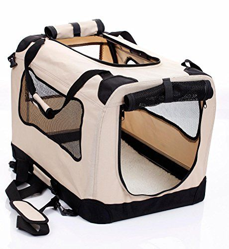 2PET Fold-A-Crate Kennel Soft Crate. Easy Folding Pet Crate Indoor/Outdoor Pet Home (Beige, X-Large 32) 2PET Kennels http://www.amazon.com/dp/B00V5IMLI0/ref=cm_sw_r_pi_dp_qSZuwb1QK2HPY