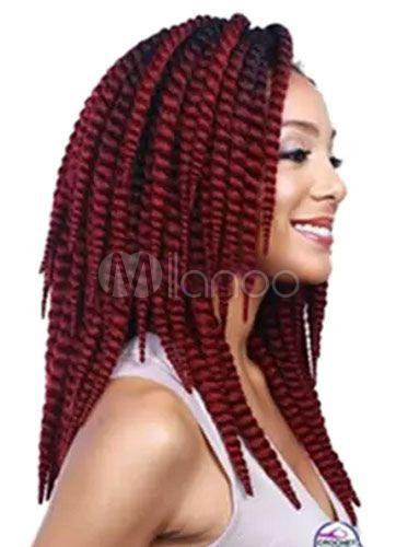 Wigs African American Hair Extension Women's Medium Heat-resistant Fiber Wig Extension