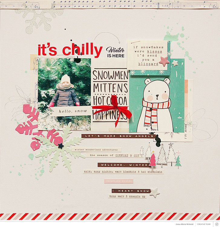 it's chilly by aniamaria at @studio_calico