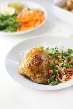 Filipino Coconut Lime Chicken