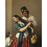 EL REQUIEBRO. Jose Agustin Arrieta+ Follow this Artist. Circa 1850.