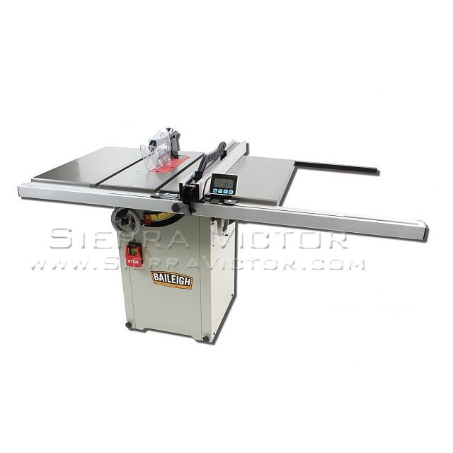 Available at Sierra Victor Industries: BAILEIGH Hybrid Table Saw. Model TS-1044H. For more information or to order, CALL 386-304-3720, VISIT http://sierravictor.com/saws/table-saws-woodworking/10-baileigh-hybrid-table-saw/