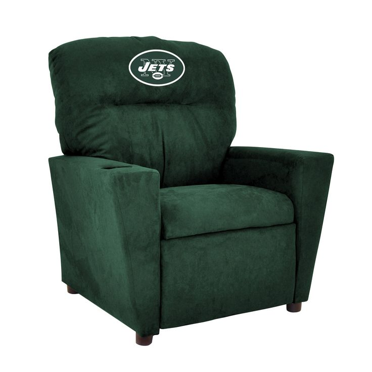 New York Jets Toddler Recliner w/ Cup Holder