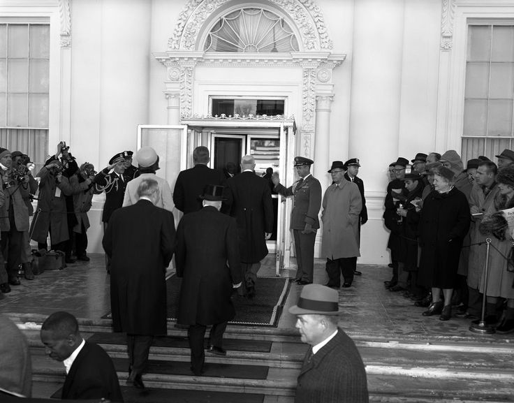 President Dwight D  Eisenhower  President elect John F  Kennedy  and  Jacqueline Kennedy at Pre Inaugural Ceremonies at the White House   John F   Kennedy. 17 Best images about Kennedys  1960 Election on Pinterest   Jfk
