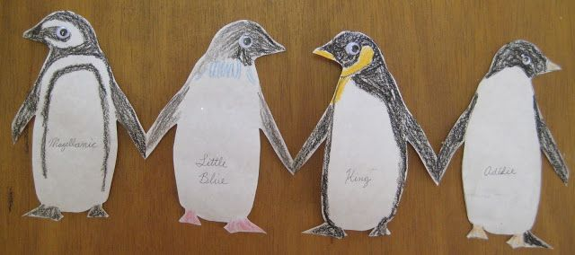 Paper-doll penguins