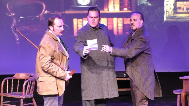 Review by Marcina Zaccaria: A Spin on Sherlock Holmes, at NYMF, directed by & starring John DiDonna with Kyle Stone, Jason Blackwater